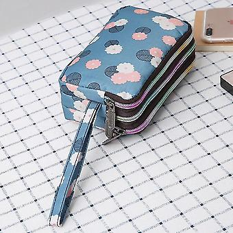 Women Mini Wallet Zipper Card Holder Coin Purse Small Leather Clutch Bag