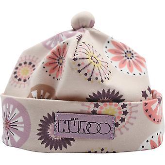 NuRoo Sof+A2t Czapka dla noworodków ze składanym mankietem - Wiatraczki
