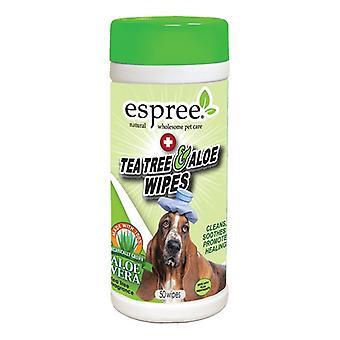 עץ תה אספרי ומגבוני אלוורה - 50 ספירה