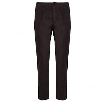 Department 5 Prince Dark Brown Chino Trousers