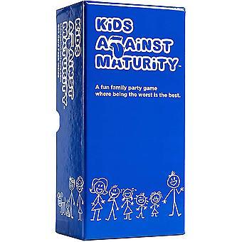barn mot modenhet: kortspill for barn og familier, super morsom morsom for familie fest spill natt