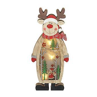 Heaven Sends Light Up Reindeer Christmas Decoration