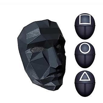 Kalamar Oyun Maskesi, Cadılar Bayramı Cosplay Maskesi