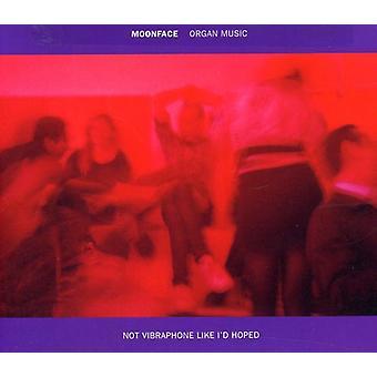 Moonface - orgue musique pas Vibraphone comme j'espère importation USA [CD]