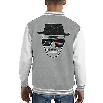 Темная сторона Уолтер Уайт Гейзенберг Kid Varsity куртка