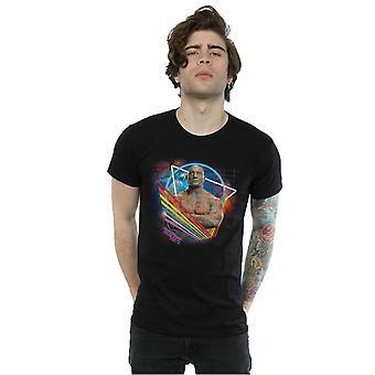 Marvel Men's Guardians Of The Galaxy Neon Drax T-Shirt