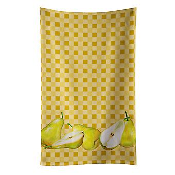 Carolines skarby BB7179KTWL gruszki na Ręcznik kuchenny Basketweave