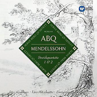 Mendelssohn / Berg, Alban - String Quartets Op 12 & Op 13 [CD] USA import