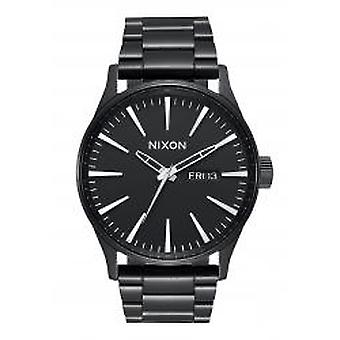 Nixon de Sentry SS All Black Herrenuhr (A356001)