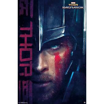 Thor Ragnarok - Thor Poster Print