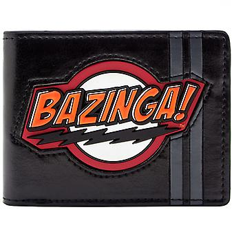 Big Bang Theory Sheldon Bazinga! ID & Card Bi-Fold Wallet