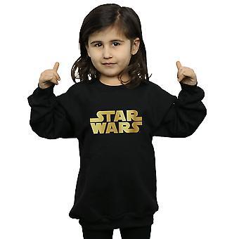 Star Wars jenter gull Logo Sweatshirt