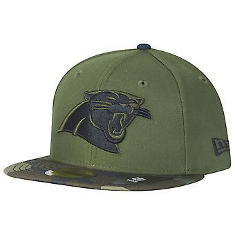 Nieuwe era 59Fifty Cap - Carolina Panthers hout camo
