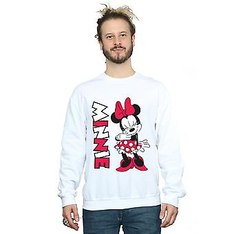 Der Männer Disney Minnie Mouse kichern Sweatshirt