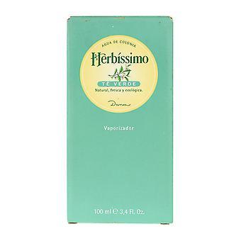 Dana Herbissimo Te Verde Agua De Colonia Spray 3,4 Oz/100 ml em caixa