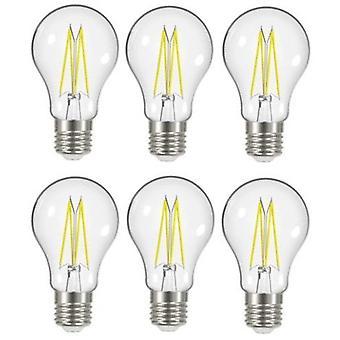 6 X Energizer 7.2W = 60W incandescence LED GLS lumière ampoule lampe Vintage ES E27 Edison clair vis [énergie classe A +]
