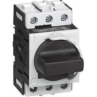 BACO 174005 aislador del interruptor 25 un 1 x 90 ° gris, negro 1 PC