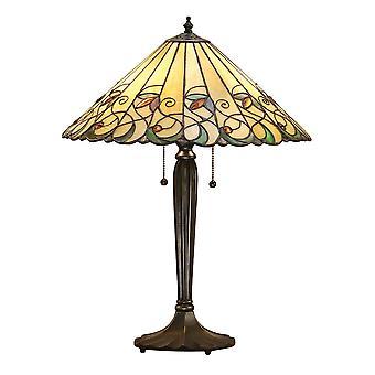 Intérieurs 1900 Jamelia 2 lampe de lumière grande Table avec