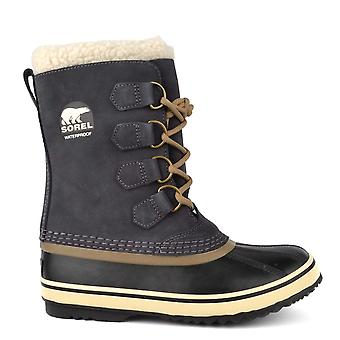 Sorel 1964 Pac 2 Coal Suede Shearling Boot