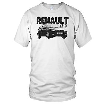 Renault Clio French Classic car Kids T Shirt