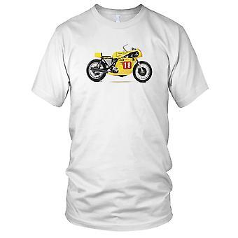 Triumf Trident Racing damer T skjorte