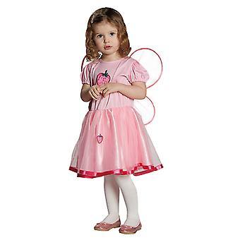 Jordbær fairy frukt Fe kostyme for barn