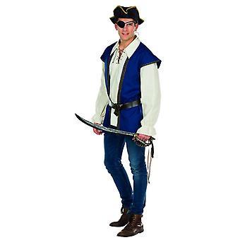 Marins de carnaval Carnaval Corsair pirate Jack costume masculin