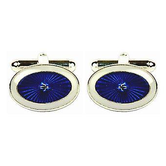 Дэвид ван Хаген звездообразования запонки - синий/белый