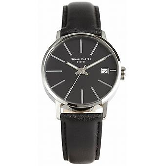 Simon Carter Watch - Black