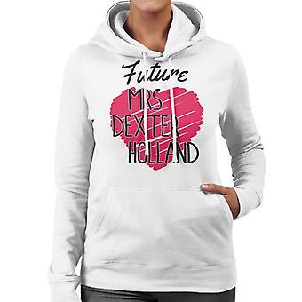 Future Mrs Dexter Holland Women's Hooded Sweatshirt