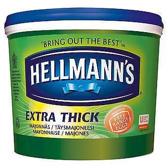 Hellmanns 余分な厚いマヨネーズ