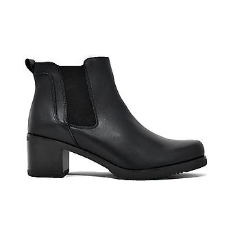 Liberitae booties booty Chelsea leather black 21803333-01