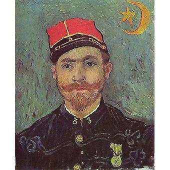 Paul-Eugene Milliet, Vincent Van Gogh muoto kuva, 60x49cm