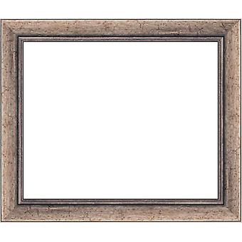 15x20 cm, wooden frame in silver
