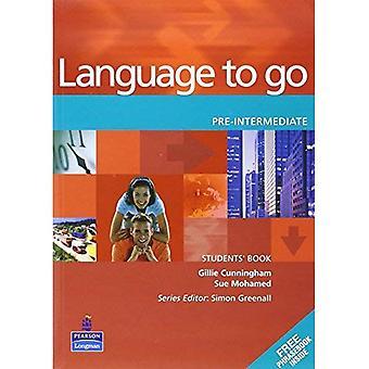 Language to Go: pré-intermédiaire étudiants livre