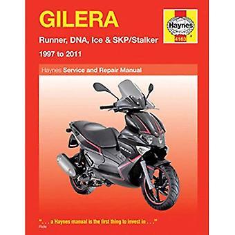 Gilera Runner, DNA, Ice & SKP/Stalker Service en reparatie handleiding: 1997-2011