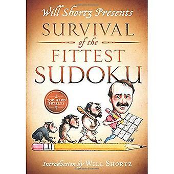 Will Shortz präsentiert Survival Of The Fittest Sudoku: 200 harte Rätsel