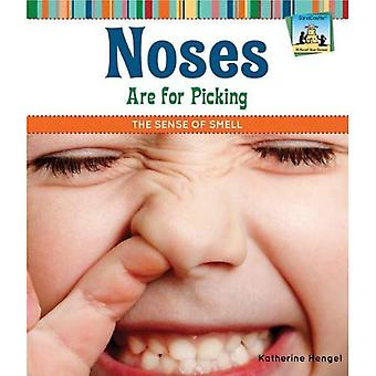 Noses Are for Picking: The Sense of Smell (SandCastle: All about Your Senses)