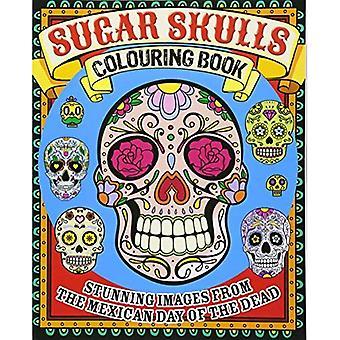 Sugar Skulls (målarböcker)
