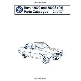 Rover 3500 & 3500S (P6) onderdelen catalogus: deel nr. Rtc9022/B