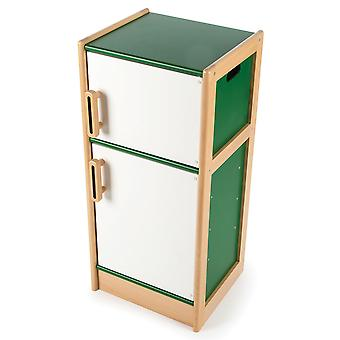 Tidlo Wooden Fridge/Freezer - Pretend Play