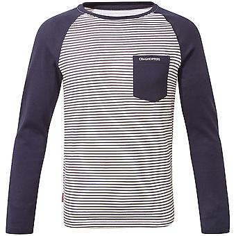 Craghoppers लड़कों Nosi जीवन Lorenzo लंबी आस्तीन टी शर्ट