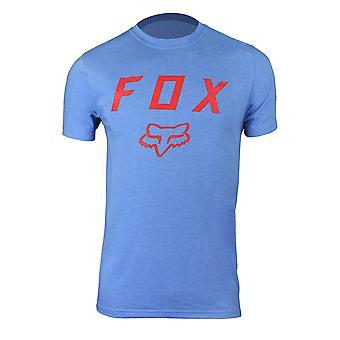 Fox Racing Mens Dusty Trails SS Tech Performance T-Shirt - Acid Blue