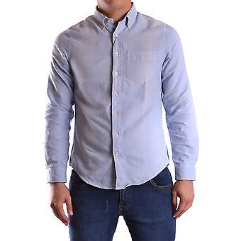 Gant Ezbc144061 Uomo's Camicia di cotone azzurro
