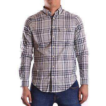 Gant Ezbc144063 Men's Grey Cotton Shirt