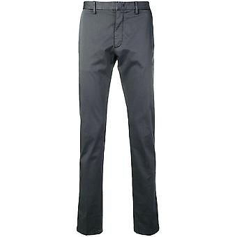 Z Zegna Vs108zz357k08 Men's Grey Cotton Pants