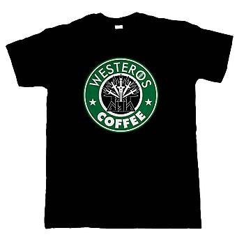 Westeros Coffee GOT TV Movie Inspired, Mens T Shirt - Gift Birthday Him Dad