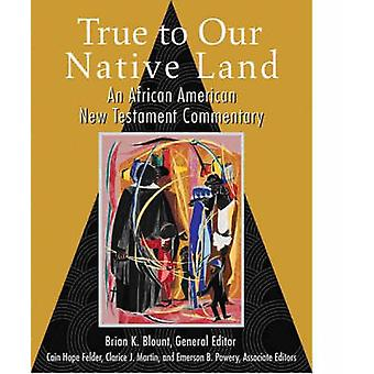 True to Our Native Land - An African American New Testament Commentary