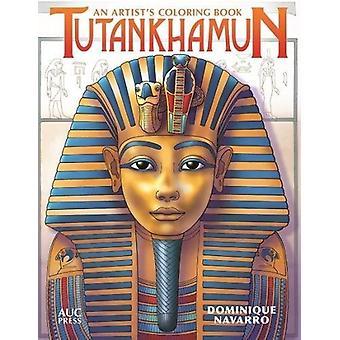 Tutankhamun - An Artist's Coloring Book by Dominique Navarro - 9789774