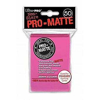 Ultra Pro SLEEVES Pro-Matte D12 Card Game - Bright Pink